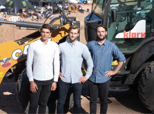 klarx Gründerteam: Vincent Koch, Florian Handschuh, Matthias Handschuh; (c) Florian Breitenberger