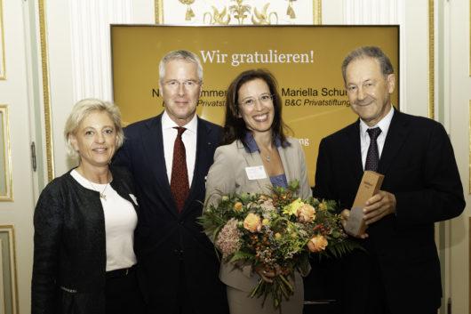 Katharina Turnauer (VGS), Franz Karl Prüller (VGS), Mariella Schurz (B&C), Norbert Zimmermann (Berndorf), © Sima Prodinger