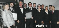 1. Platz Houskapreis 2008