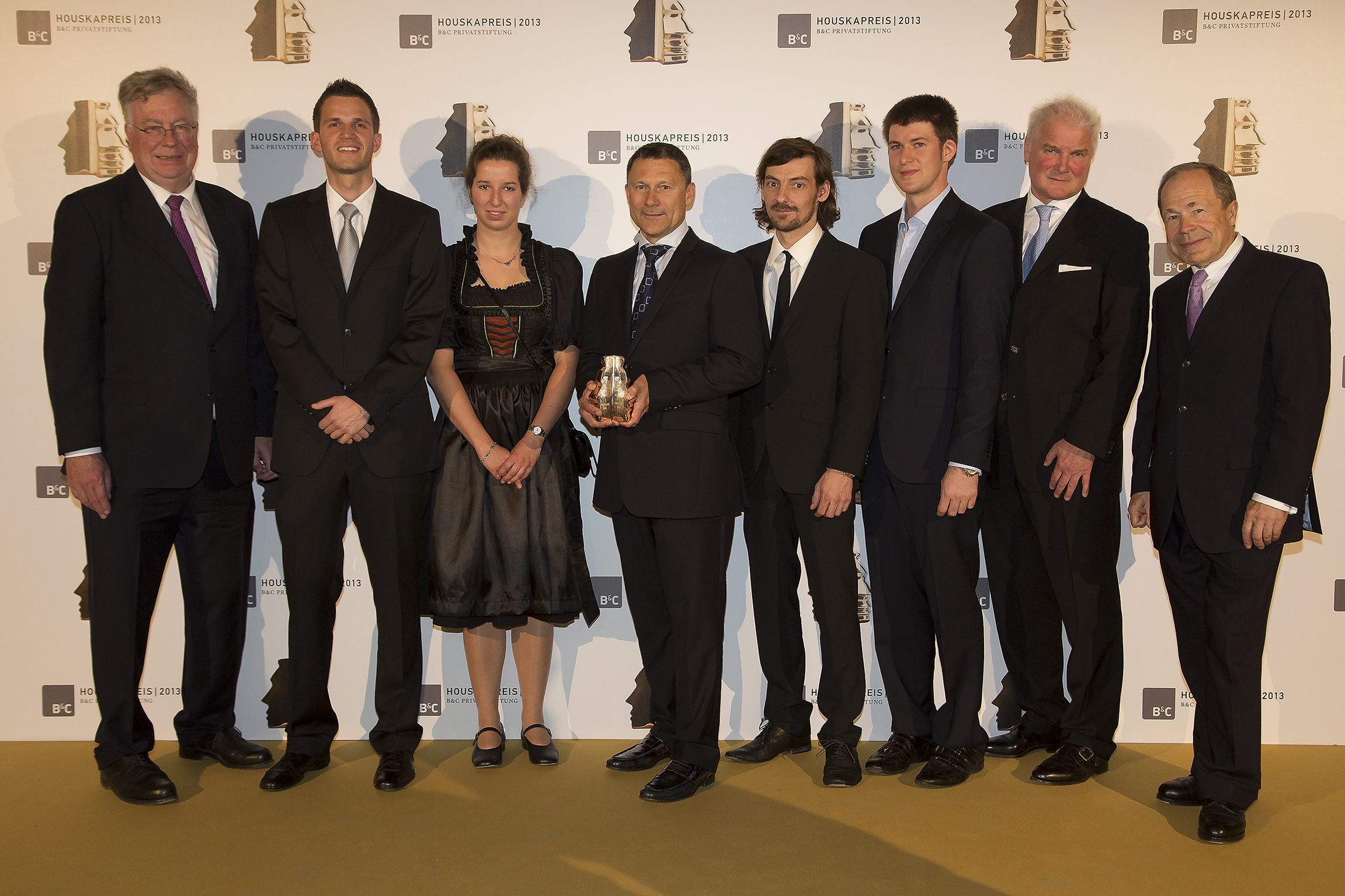 1. Platz Houskapreis 2013