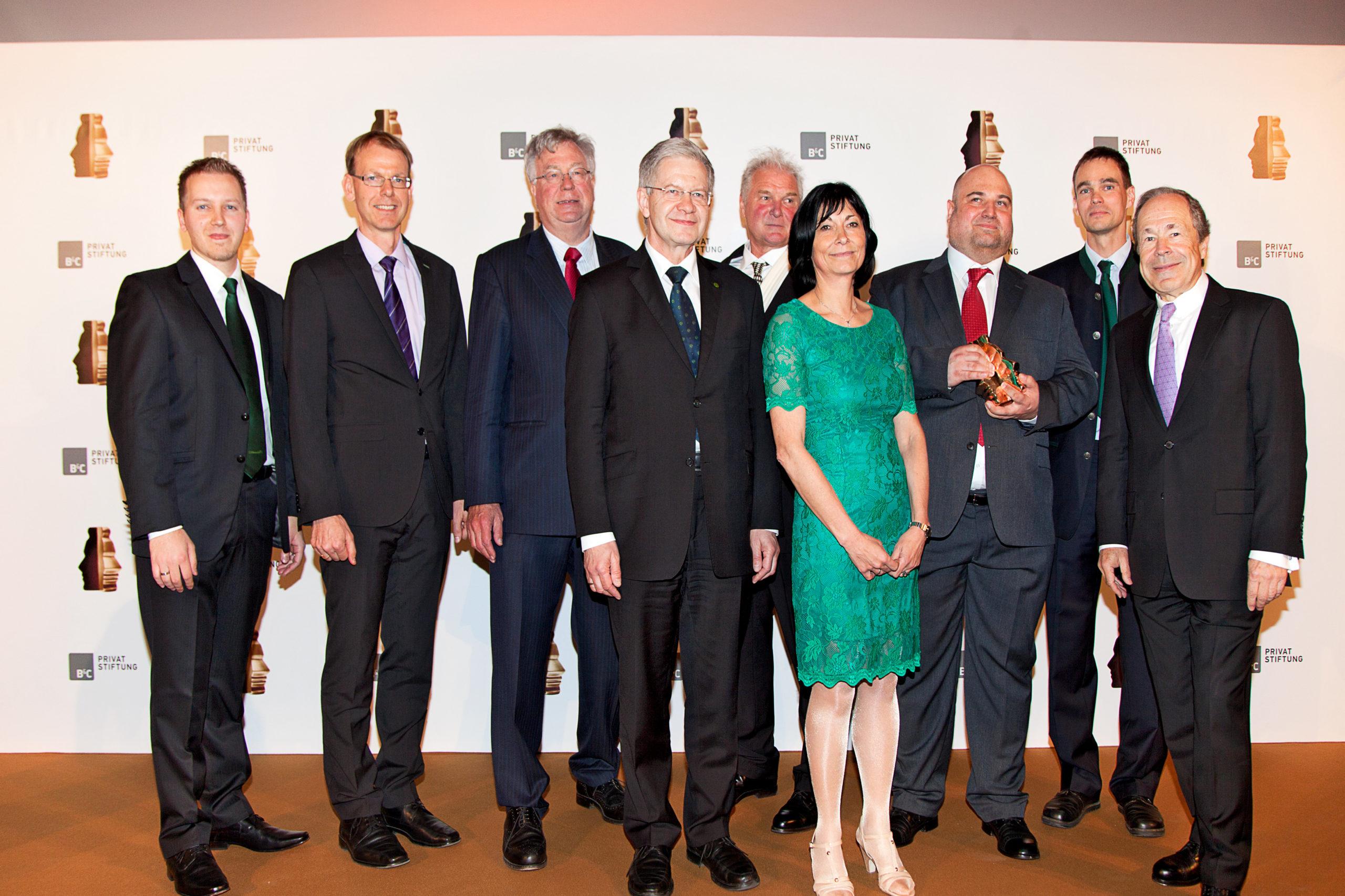 1. Platz Houskapreis 2014