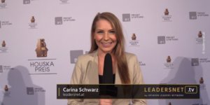 Leadersnet-Moderatorin Carina Schwarz