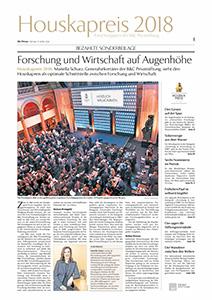 Houskapreis 2018 Sonderbeilage Die Presse
