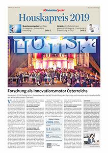 Houskapreis 2019 Sonderbeilage OÖN