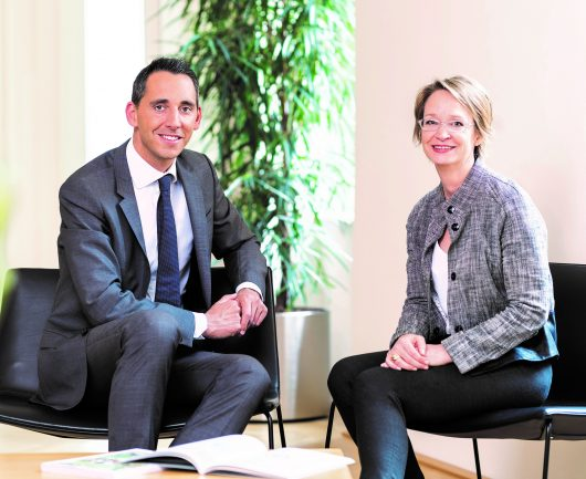 Thomas Zimpfer und Petra Preininger