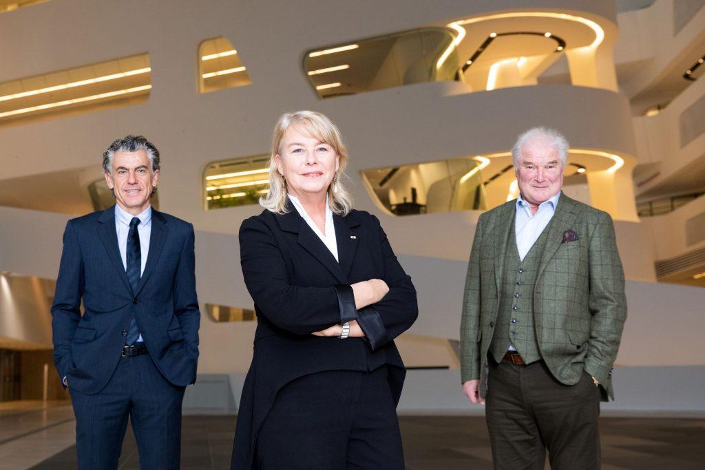 v.l.n.r.: Michale Tojner, Edeltraud Hanappi-Egger, Wolfgang Hofer