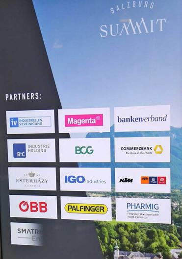 Partner des Salzburg Summit 2021
