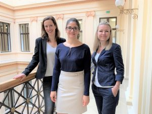 Mariella Schurz, Mitra Kaffash-Bashi, Regina Sturm-Lenhart