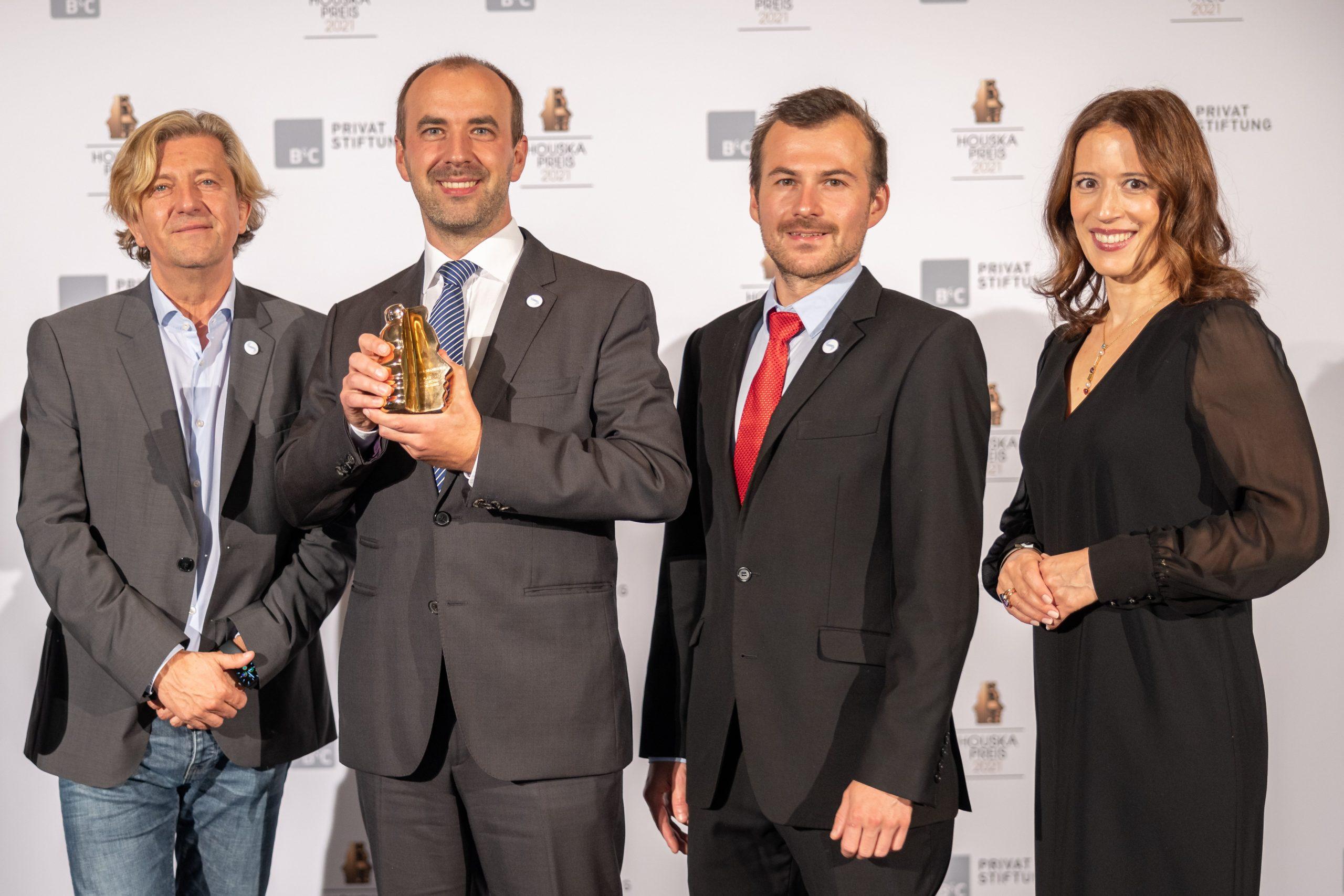 Houskapreis 2021: 2. Platz für Christian With/TU Graz